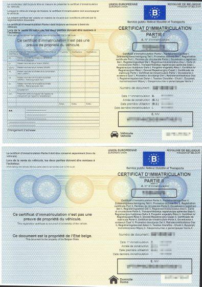 Tłumaczenie przysięgłe belgijski dowód rejestracyjny