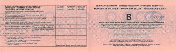 Tłumaczenie przysięgłe dowód rejestracyjny belgia