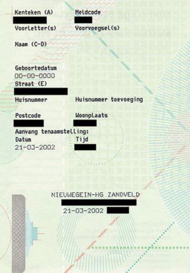 dokumenty samochodowe z Holandii tłumaczenie