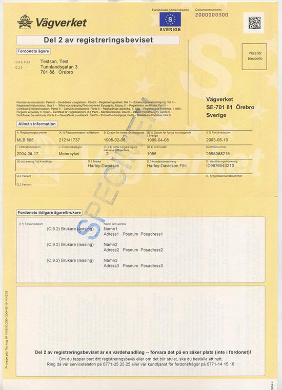 dowodu rejestracyjnego szwedzkiego registreringsbeviset tłumaczenie szwedzkiego dowodu rejestracyjnego tłumaczenie dowodu rejestracyjnego szwedzkiego szwedzki dowód rejestracyjny dowód rejestracyjny ze Szwecji szwedzki dowód rejestracyjny del 2 tłumaczenie