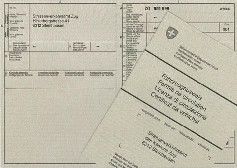 tłumaczenie szwajcarskiego dowodu rejestracyjnego
