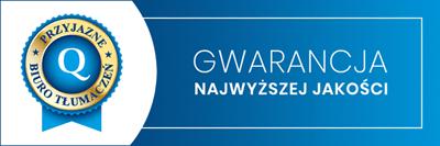 biuro tłumaczeń Warszawa tłumacz przysięgły