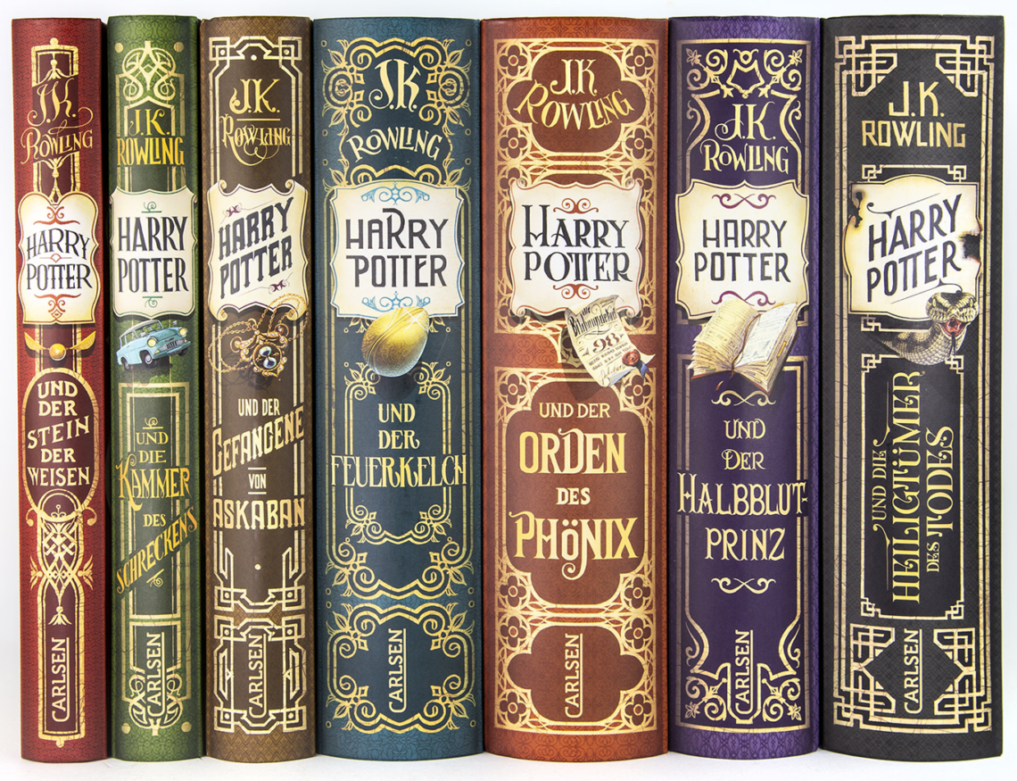 harry potter po niemiecku tłumacz literatury pięknej