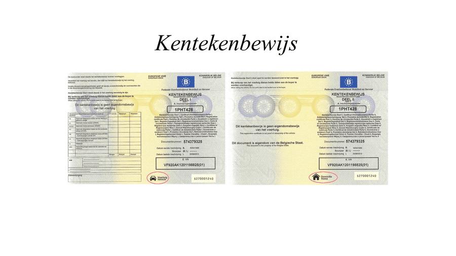 Tłumaczenia Kentekenbewijs Tłumaczenie dokumentów samochodowych z Holandii holenderski dowód rejestracyjny tłumaczenie dowodu rejestracyjnego holenderskiego