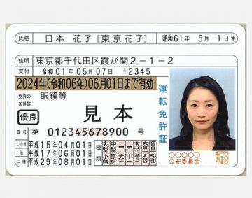 japońskie prawo jazdy